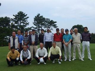 親睦ゴルフ大会(H23年度)